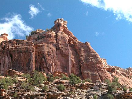 Leg Bone Arch, Dry Fork Bull Canyon near Moab, Utah