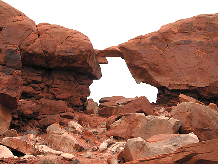 Red Wash Window, Red Wash near Moab, Utah