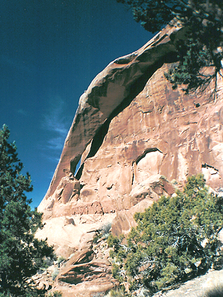 Triggerguard Arch, North Fork Mill Creek near Moab, Utah