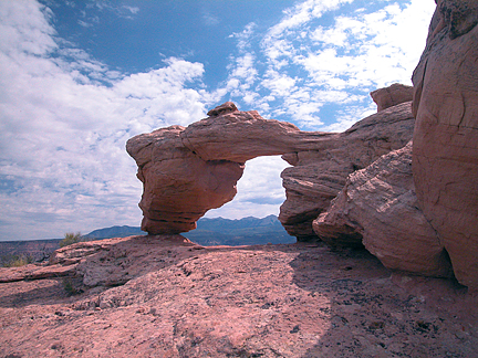 Tukuhnikivista Arch, Behind the Rocks near Moab, Utah