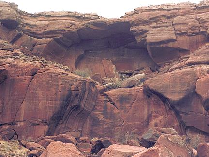 Twins Arch, Jackson Bottom near Moab, Utah