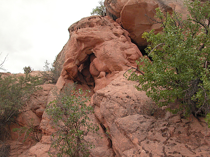 Wash Arch, Cottonwood Wash, Grand County, Utah