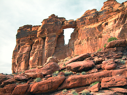 Window Arch, Pritchett Canyon near Moab, Utah