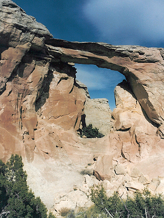 Winter Camp Arch, Winter Camp Ridge near Moab, Utah