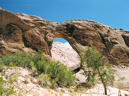 Alley Arch, Buck Canyon, Wayne County, Utah