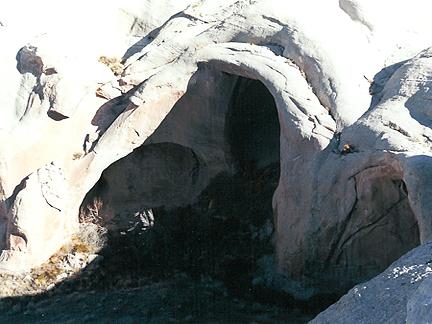 Arena Arch, Cow Canyon, San Juan County, Utah