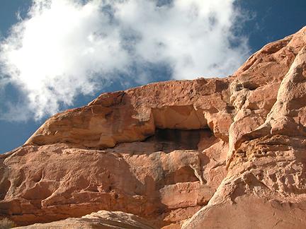 Beef Basin Arch 03, Beef Basin, San Juan County, Utah