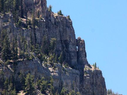 Big Ridge Arch, Near Upper Stillwater Dam, Duchesne County, Utah