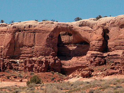 Birthday Arch, Buck Tank Draw, Kane County, Utah