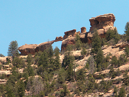 Budges Arch, Range Creek Canyon, Emery County, Utah