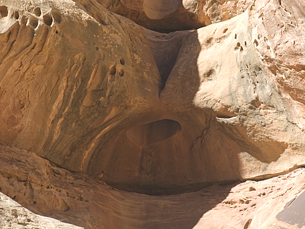 Conduit Arch, Davis Canyon, San Juan County, Utah