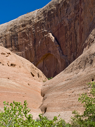 Convex Arch, East Fork Pasture Canyon, Wayne County, Utah