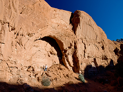 County Line Arch, South of Promise Rock, Cannonville, Utah