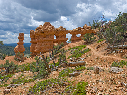 Dessert Arch, Losee Canyon, Garfield County, Utah