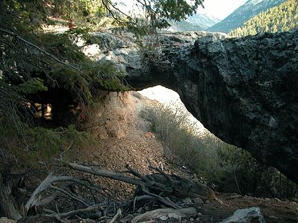 Donut Arch, Sink Ridge / Dry Fork, Uintah County, Utah