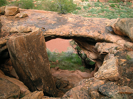 Ducket Arch, White Canyon, San Juan County, Utah