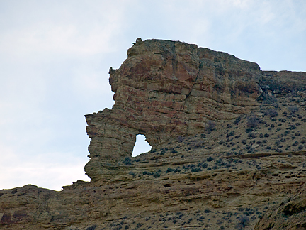 Finklesnorts Arch, Wagon Hound Canyon, Uintah County, Utah