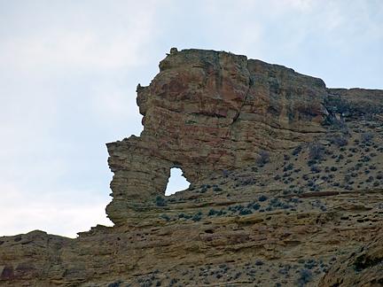 Finklesnorts Arch, Wagon Hound Canyon, Uintah County, Utah