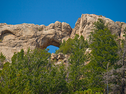 Hole in the Rock Arch, Hoop Lake Road, Summit County, Utah