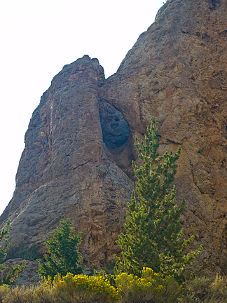 Hole in the Rock Spring Arch, Hoop Lake Road, Summit County, Utah