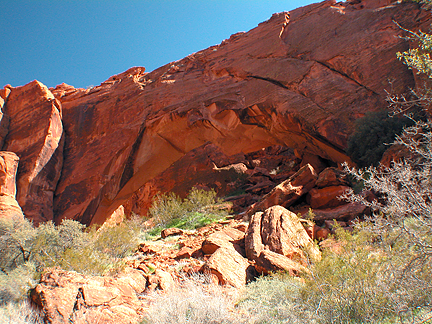 Johnsons Arch, Snow Canyon, Washington County, Utah