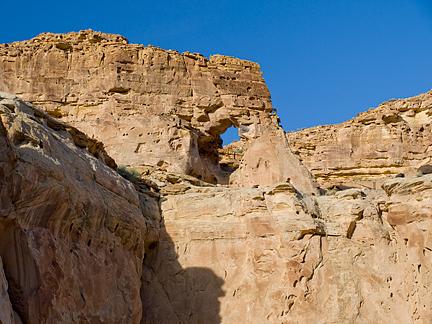 Last Chance Wash Arch, Last Chance Wash, Emery County, Utah