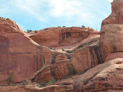 Lavendar Canyon Arch, Lavendar Canyon, San Juan County, Utah