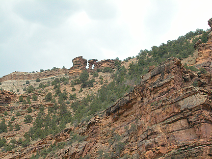 Leaning Arch, Dry Canyon, Carbon County, Utah