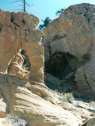 Lyman Arch, Shingle Creek, Wayne County, Utah