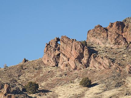 Minerville Arch, near Minersville Reservoie, Bever County, Utah