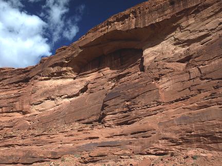 North Wash Arch, North Wash, Hwy 95, Garfield County, Utah