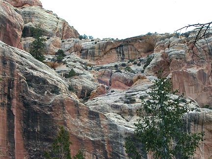Pawn Arch, Peavine Canyon, San Juan County, Utah