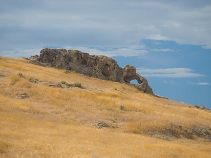 Peplin Arch, NW Corner of Great Salt Lake, Box Elder County, Utah