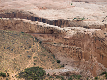 Robbers Roost Arch, Robbers Roost Canyon, Wayne County, Utah