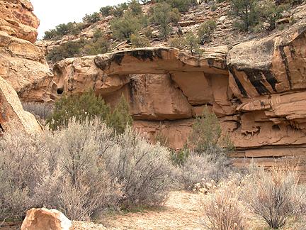 Sego Canyon Arch, Thompson Canyon, Grand County, Utah