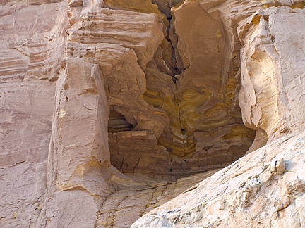 Swing Arm Arch, Last Chance Wash, Emery County, Utah