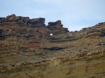 Wagon Hound Arch, Wagon Hound Canyon, Uintah County, Utah