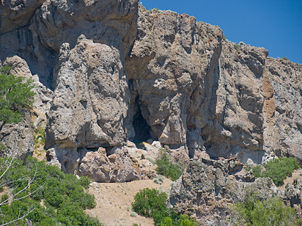 Wasatch Boundary Arch, West of Francis, Wasatch County, Utah