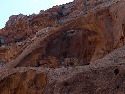 West Hog Springs Arch, Hog Springs Picnic Area, Garfield County, Utah