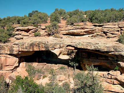 Westwater Natural Bridge, Westwater Creek, San Juan County, Utah