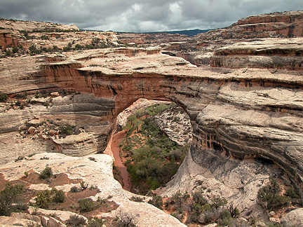 Sipapu Natural Bridge, White Canyon, Natural Bridges National Monument, Utah