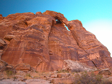 Arch Tower, San Rafael Reef, San Rafael Swell, Emery County, Utah