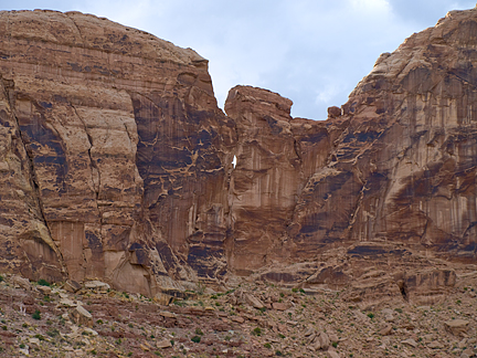 Eye of the Needle Arch, Little Grand Canyon, San Rafael Swell, Emery County, Utah