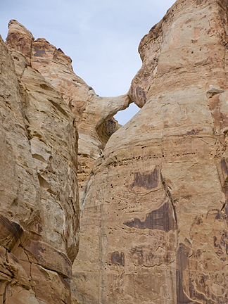 Hidden Bridge, Farsworth Canyon, San Rafael Swell, Emery County, Utah