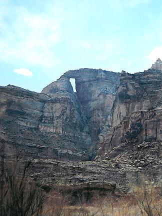 Hondoo Arch, Reds Canyon, San Rafael Swell, Emery County, Utah