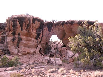 Horse Heaven Arch, Horse Heaven, San Rafael Swell, Emery County, Utah