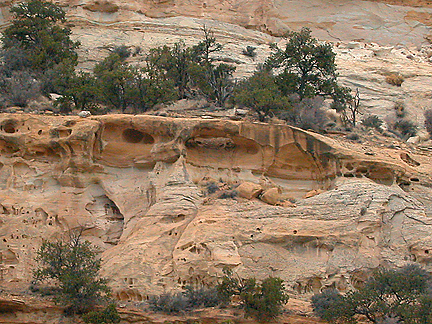 Oblong Arch, Eagle Canyon, San Rafael Swell, Emery County, Utah