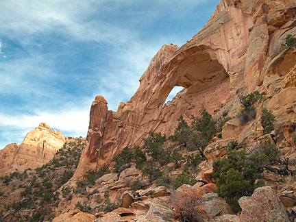 Obscure Arch, Cane Wash, San Rafael Swell, Emery County, Utah