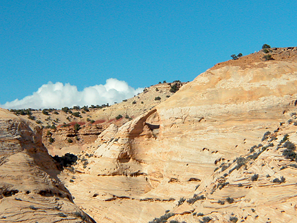Raptor Arch, Secret Mesa, San Rafael Swell, Emery County, Utah