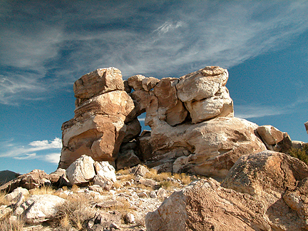 Red Seep Arch, Black Hills, San Rafael Swell, Emery County, Utah